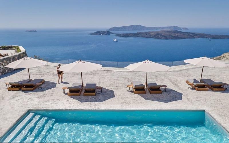 Nadine villa Santorini