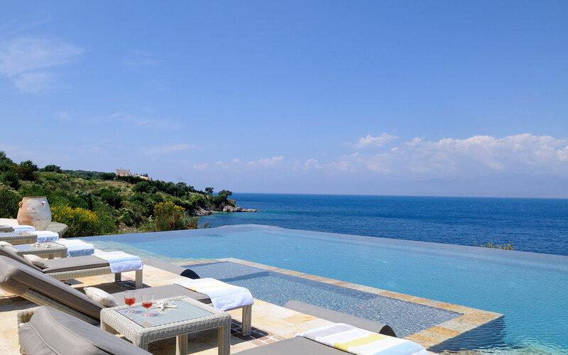 CALLIRRHOE villa Corfu