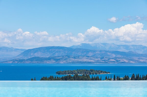 Luxury Villa Corfu - view