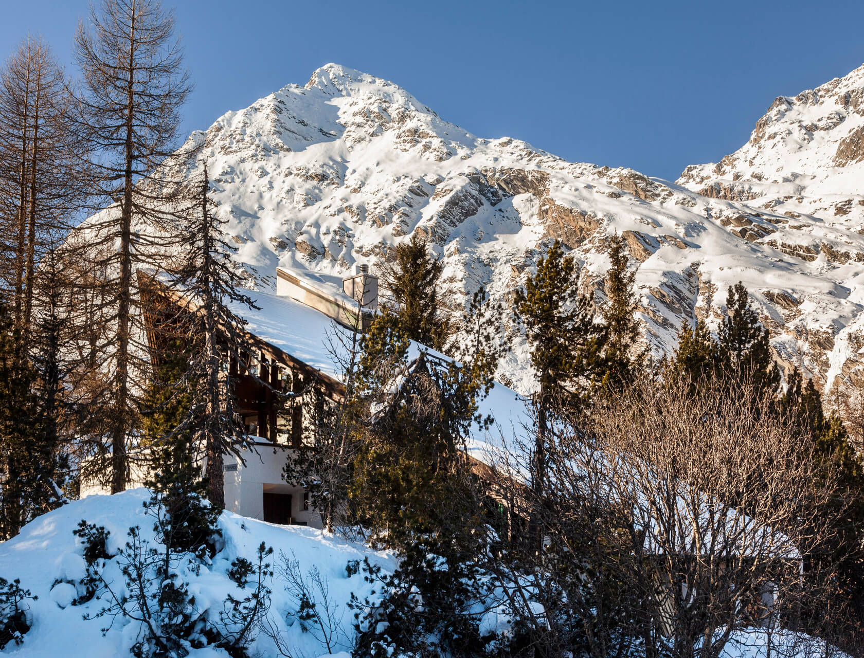 Luxury chalet close to St. Moritz